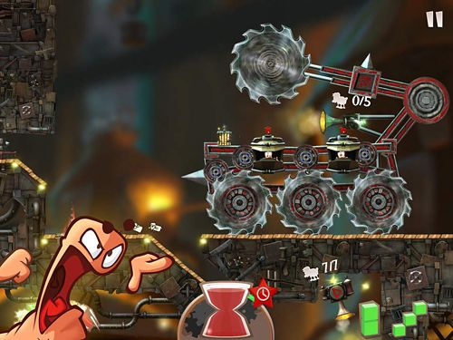Download Flockers iPhone free game.