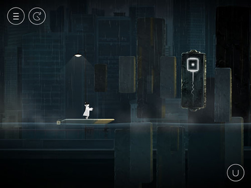 Écrans du jeu Flood of light pour iPhone, iPad ou iPod.