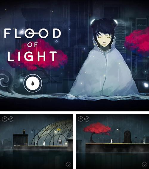 Flood of light