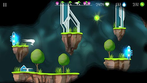 Screenshots of the Flora and the darkness game for iPhone, iPad or iPod.