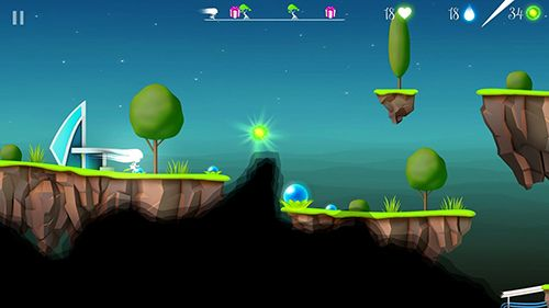 Capturas de pantalla del juego Flora and the darkness para iPhone, iPad o iPod.