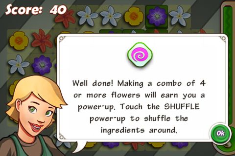 Free Flower shop frenzy download for iPhone, iPad and iPod.