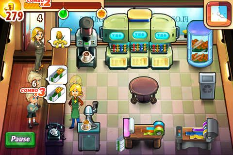 Screenshots of the Flower shop frenzy game for iPhone, iPad or iPod.