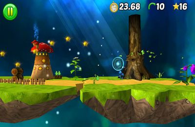 Screenshots of the Flubby World game for iPhone, iPad or iPod.