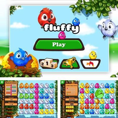 In addition to the game Cartoon defense 4: Revenge for iPhone, iPad or iPod, you can also download Fluffy Birds for free.
