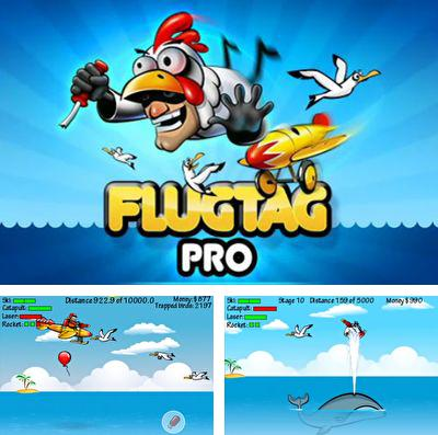 In addition to the game Kill Devils - kill monsters to resist invasion & unite races! for iPhone, iPad or iPod, you can also download Flugtag Pro for free.