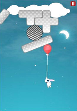 Écrans du jeu Fly Away Rabbit pour iPhone, iPad ou iPod.