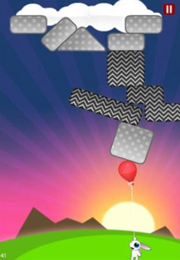 Screenshots vom Spiel Fly Away Rabbit für iPhone, iPad oder iPod.