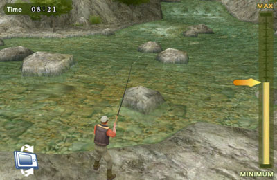 Screenshots of the Fly Fishing 3D game for iPhone, iPad or iPod.
