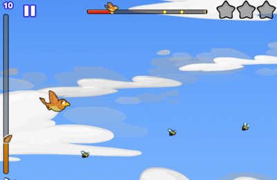 Écrans du jeu Fly With Me pour iPhone, iPad ou iPod.