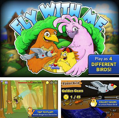 In addition to the game Zombie Duck Hunt for iPhone, iPad or iPod, you can also download Fly With Me for free.