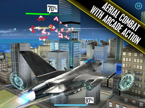 Capturas de pantalla del juego Flying Benjamins para iPhone, iPad o iPod.
