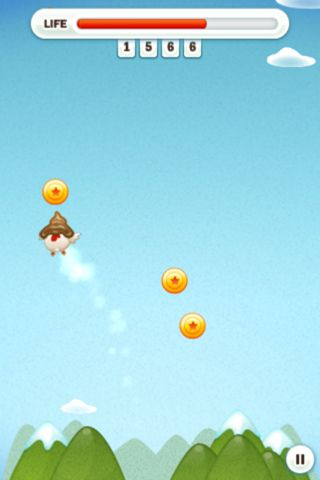 Free Flying chicken download for iPhone, iPad and iPod.