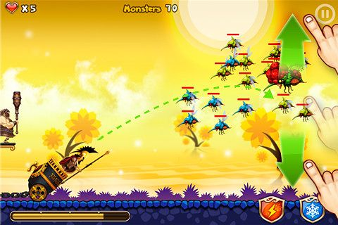 Descarga gratuita de Flying defense para iPhone, iPad y iPod.