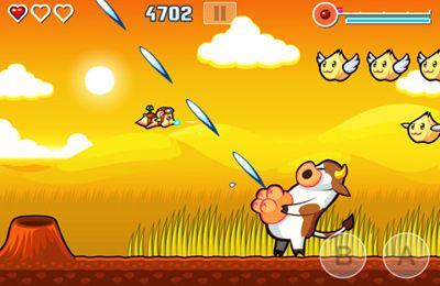 Download Flying Hamster iPhone free game.