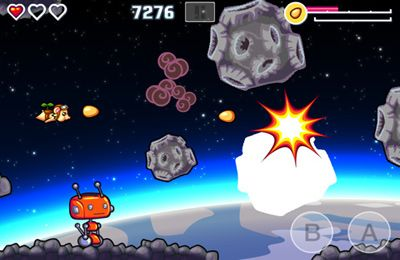 Screenshots of the Flying Hamster game for iPhone, iPad or iPod.