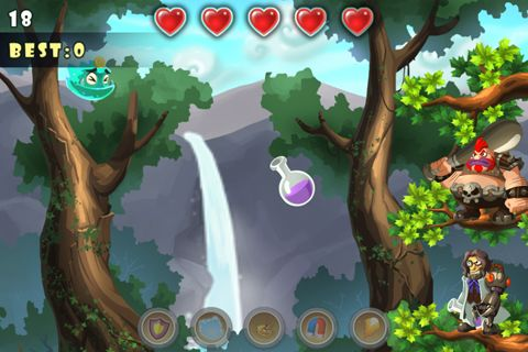Capturas de pantalla del juego Flying monsters para iPhone, iPad o iPod.
