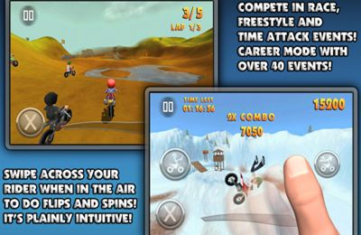 Download FMX Riders iPhone free game.