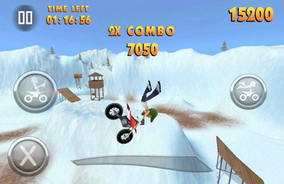 Screenshots do jogo FMX Riders para iPhone, iPad ou iPod.