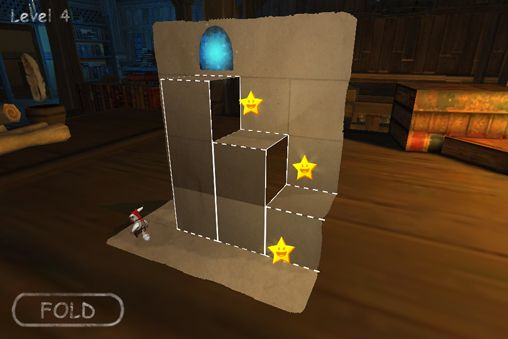 Écrans du jeu Fold the adventure pour iPhone, iPad ou iPod.