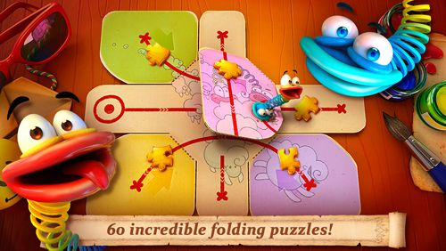 Download Fold the world iPhone free game.