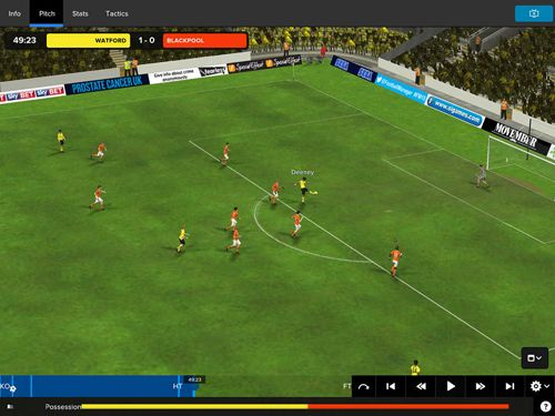 Screenshots vom Spiel Football manager classic 2015 für iPhone, iPad oder iPod.