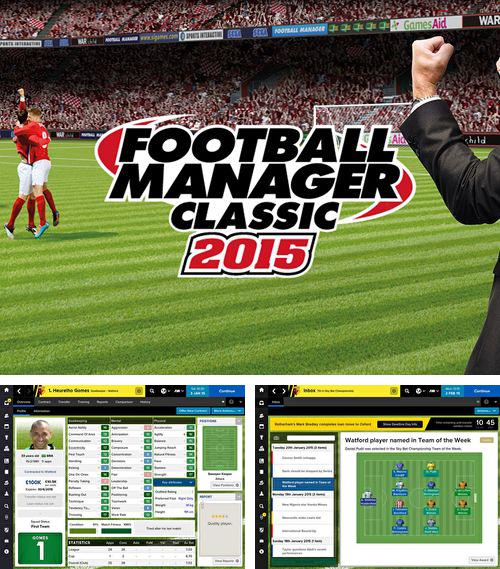 In addition to the game Skatin Girlz for iPhone, iPad or iPod, you can also download Football manager classic 2015 for free.