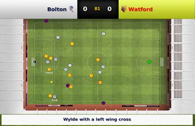 Screenshots of the Football Manager Handheld 2013 game for iPhone, iPad or iPod.