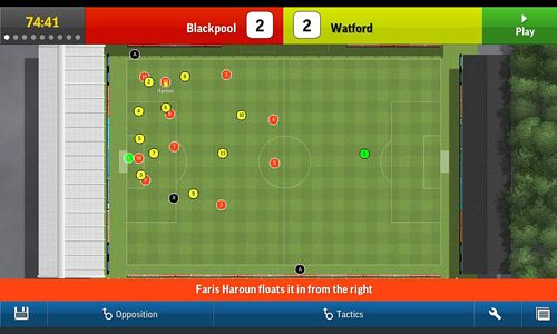 Screenshots of the Football manager handheld 2015 game for iPhone, iPad or iPod.