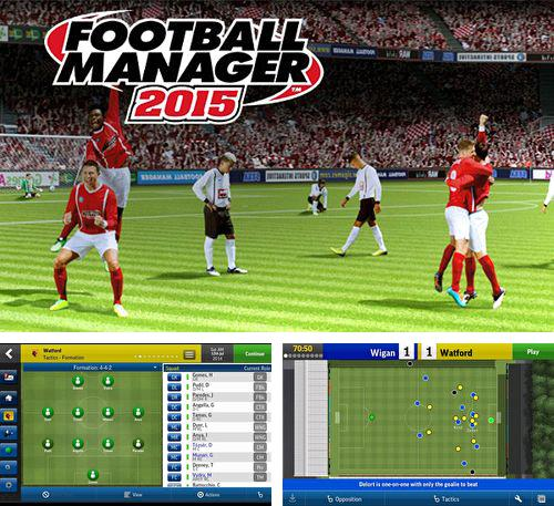 In addition to the game Zombie Smash for iPhone, iPad or iPod, you can also download Football manager handheld 2015 for free.