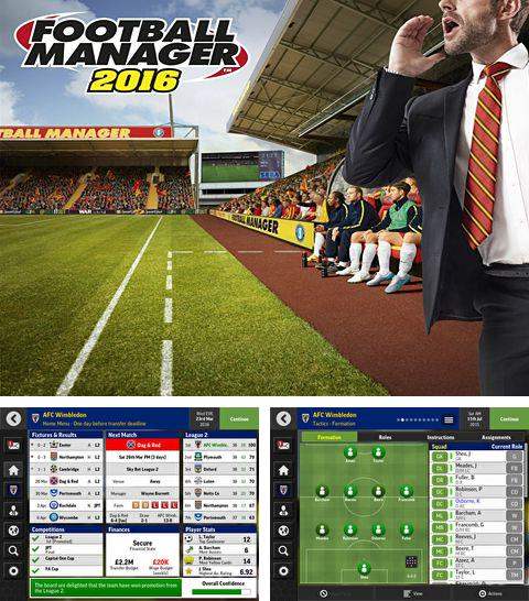In addition to the game Stunt Car Racing 99 Tracks for iPhone, iPad or iPod, you can also download Football manager mobile 2016 for free.