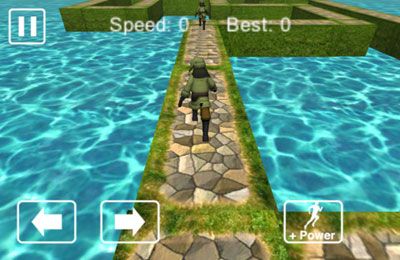 Screenshots do jogo Forest Run para iPhone, iPad ou iPod.