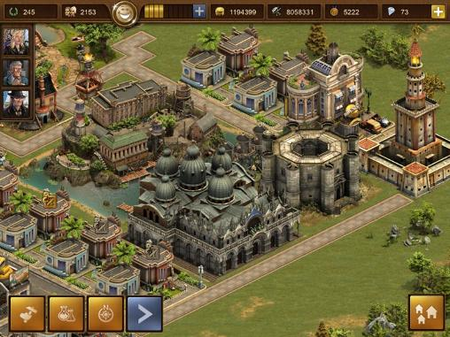Descarga gratuita de Forge of empires para iPhone, iPad y iPod.