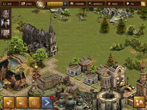 Screenshots vom Spiel Forge of empires für iPhone, iPad oder iPod.