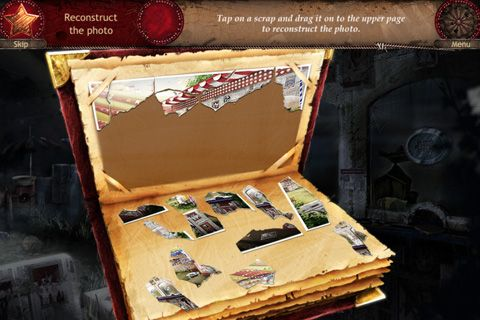 Capturas de pantalla del juego Forgotten places: Lost circus para iPhone, iPad o iPod.