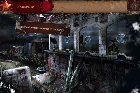 Screenshots vom Spiel Forgotten places: Lost circus für iPhone, iPad oder iPod.