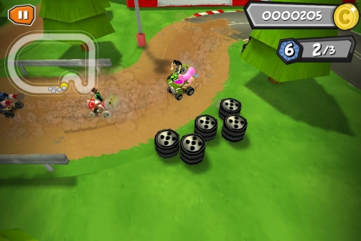 Capturas de pantalla del juego Formula cartoon all-stars para iPhone, iPad o iPod.