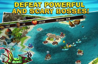 Download Fort Defenders 7 seas iPhone free game.
