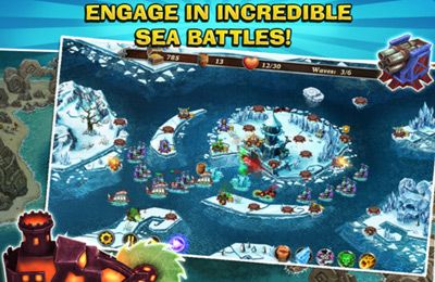 Free Fort Defenders 7 seas download for iPhone, iPad and iPod.
