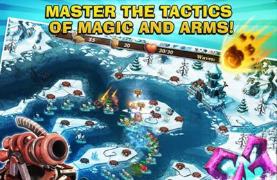 Screenshots of the Fort Defenders 7 seas game for iPhone, iPad or iPod.