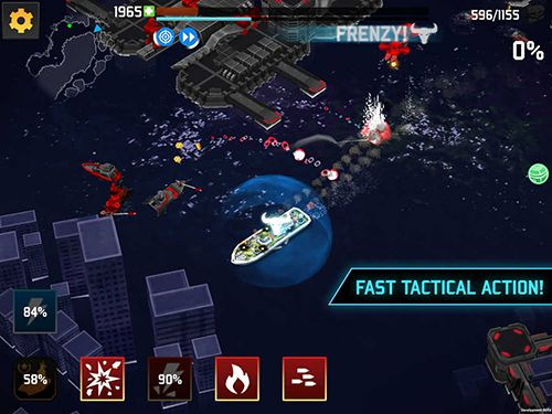 Descarga gratuita de Fortress: Destroyer para iPhone, iPad y iPod.