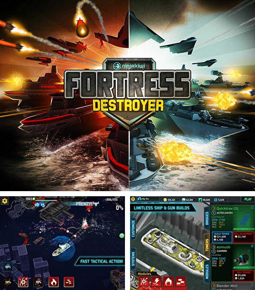 In addition to the game Figaro Pho: Creatures & critters for iPhone, iPad or iPod, you can also download Fortress: Destroyer for free.
