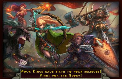 Kostenloser Download von Four Kingdoms: War on Middle Earth Elite für iPhone, iPad und iPod.