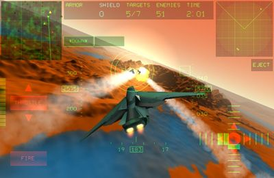 Screenshots of the Fractal Combat game for iPhone, iPad or iPod.