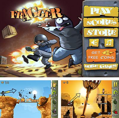In addition to the game Regular show: Nightmare-athon for iPhone, iPad or iPod, you can also download Fragger for free.