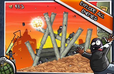 Download Fragger HD iPhone free game.