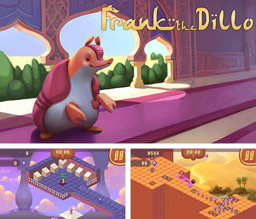 In addition to the game Fruit Rocks for iPhone, iPad or iPod, you can also download Frank the dillo for free.