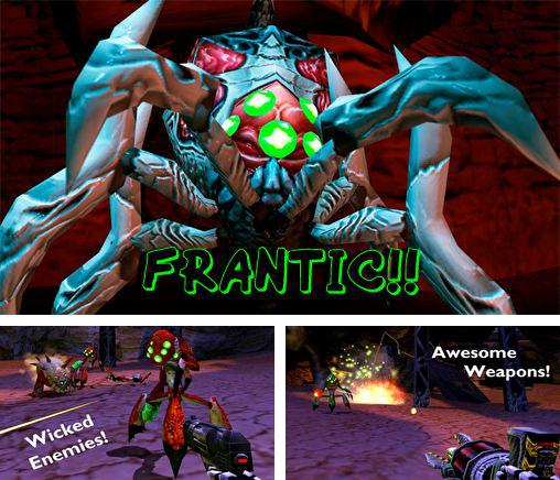 In addition to the game To-Fu fury for iPhone, iPad or iPod, you can also download Frantic!! for free.