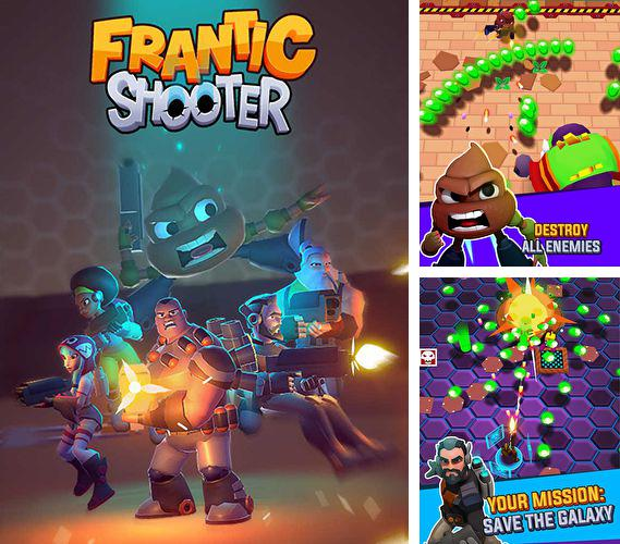 In addition to the game Twisty planets for iPhone, iPad or iPod, you can also download Frantic shooter for free.