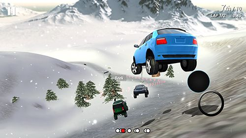 Descarga gratuita de Freak racing para iPhone, iPad y iPod.